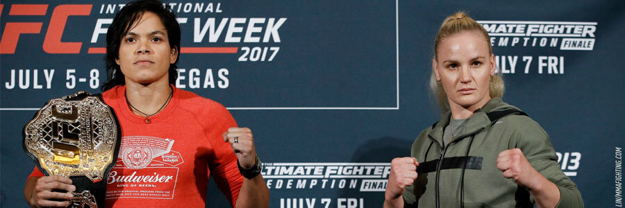 Nunes is the favorite in the MMA odds to beat Shevchenko at UFC 213