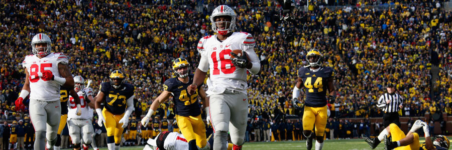 Ohio State vs. Wisconsin Big Ten Championship Lines & Prediction