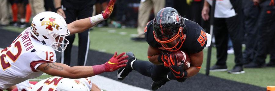 Oklahoma State vs Kansas State NCAA Football Week 7 Odds & Pick