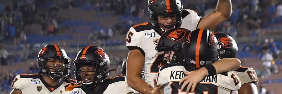 Utah vs Oregon State 2019 College Football Week 7 Lines & Betting Pick