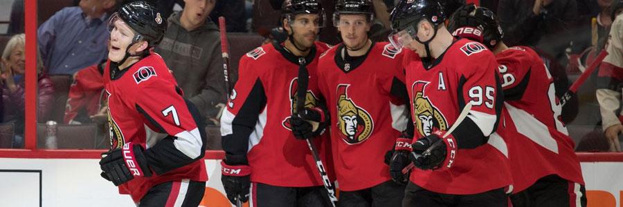 Senators vs Ducks NHL Lines & Betting Prediction