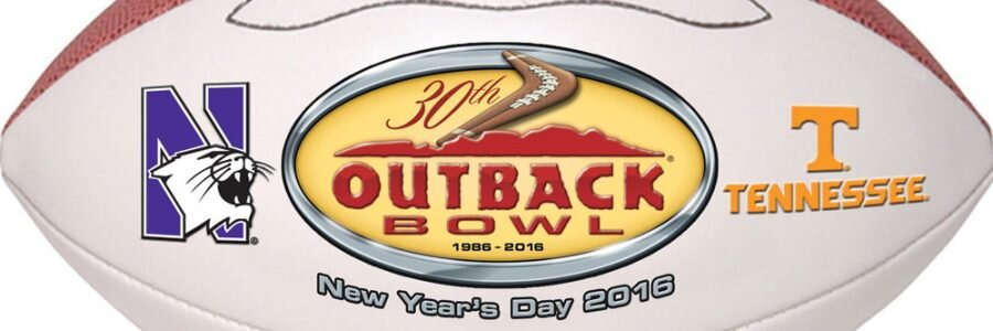 Northwestern vs Tennessee 2015 Outback Bowl Betting Preview