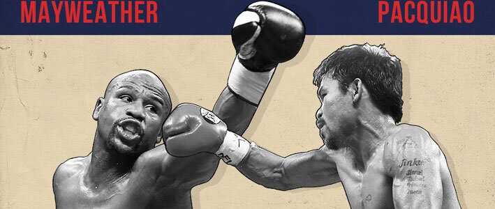Pacquiao vs Mayweather Online Betting Stats (Infographic)