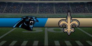 Panthers vs Saints Result NFL Score