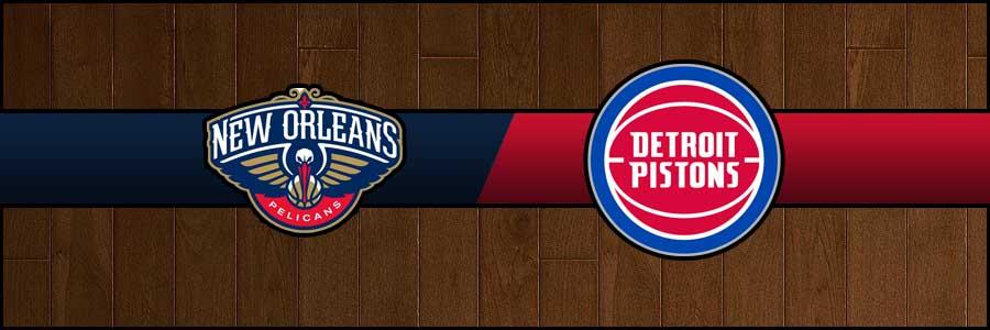 Pelicans vs Pistons Result Basketball Score