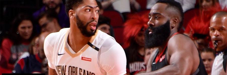 How to Bet Pelicans vs Rockets NBA Spread & Prediction