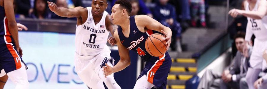 Pepperdine vs Gonzaga NCAAB Betting Odds & Game Preview