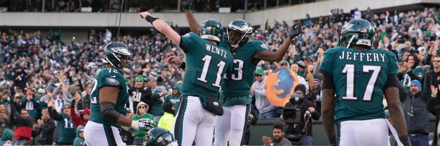 Eagles Are Slight NFL Lines Favorites vs. Seahawks in Week 13