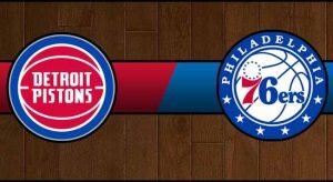 Pistons vs 76ers Result Basketball Score