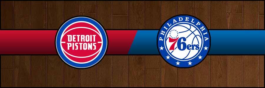 Pistons vs 76ers Result Basketball Score