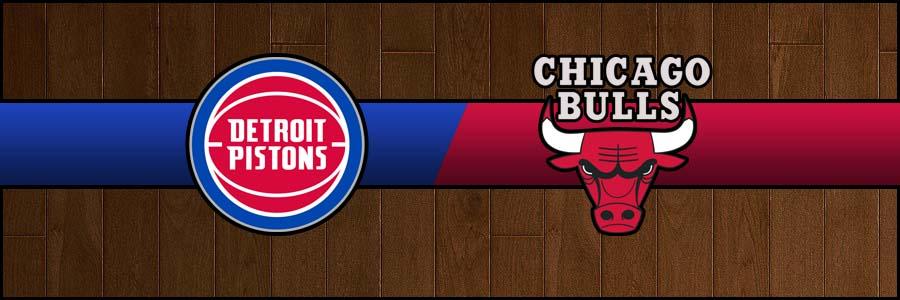 Pistons vs Bulls Result Basketball Score