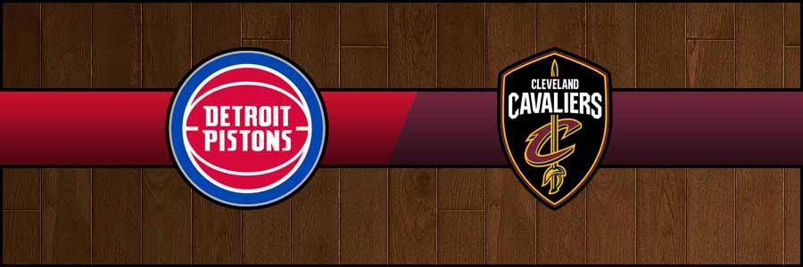 Pistons vs Cavaliers Result Basketball Score