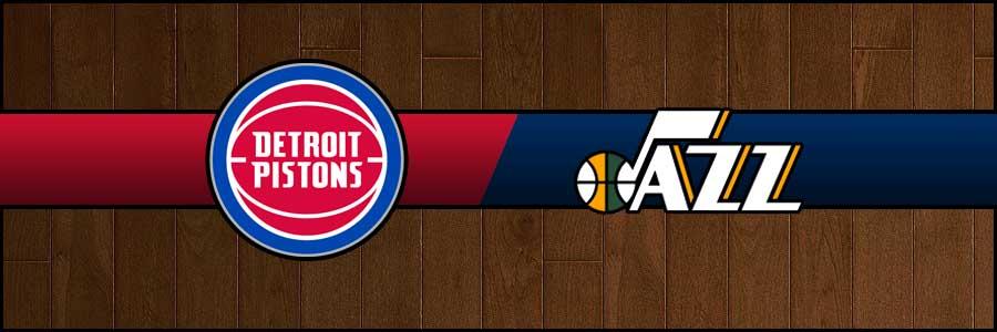 Pistons vs Jazz Result Basketball Score