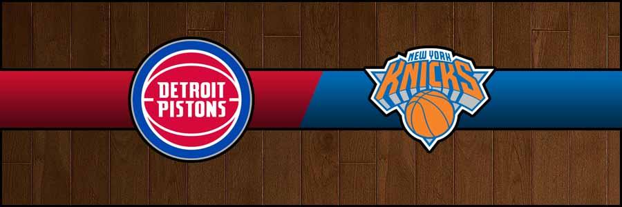 Pistons vs Knicks Result Basketball Score