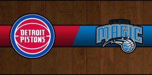 Pistons vs Magic Result Basketball Score