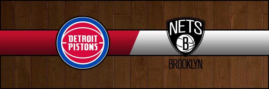 Pistons vs Nets Result Basketball Score