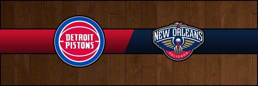 Pistons vs Pelicans Result Basketball Score