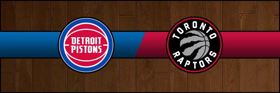Pistons @ Raptors Result Wednesday Basketball Score