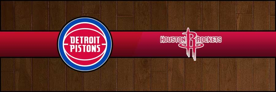 Pistons vs Rockets Result Basketball Score