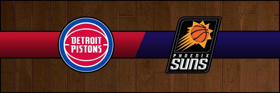 Pistons vs Suns Result Basketball Score