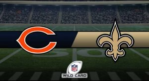 Bears vs Saints Result NFL Wild Card Score