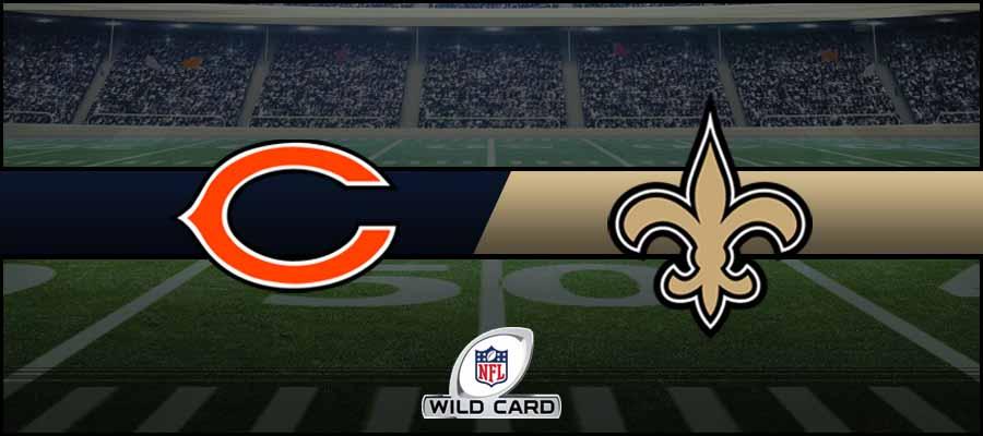 Bears vs Saints Result NFL Wild Card Score