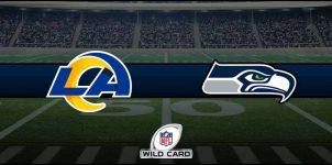 Rams vs Seahawks Result NFL Wild Card Score