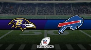 Ravens vs Bills Result NFL Divisional Playoffs Score
