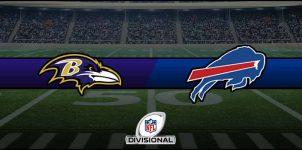 Ravens vs Bills Result NFL Divisional Playoffs Score