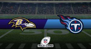 Ravens vs Titans Result NFL Wild Card Score