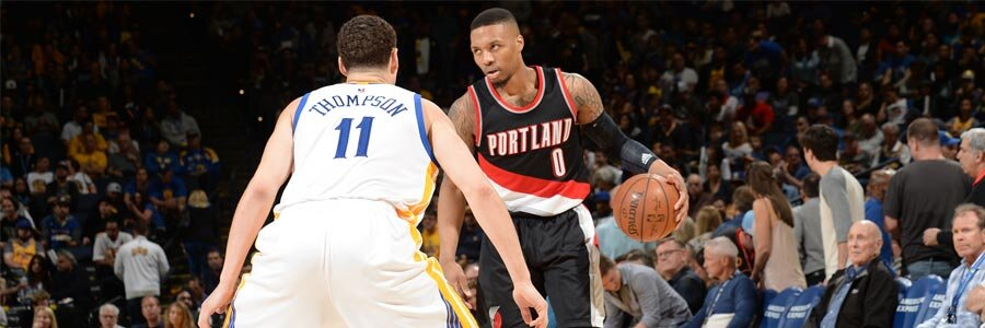 NBA Playoff Betting Pick on Portland at Golden State Game 2