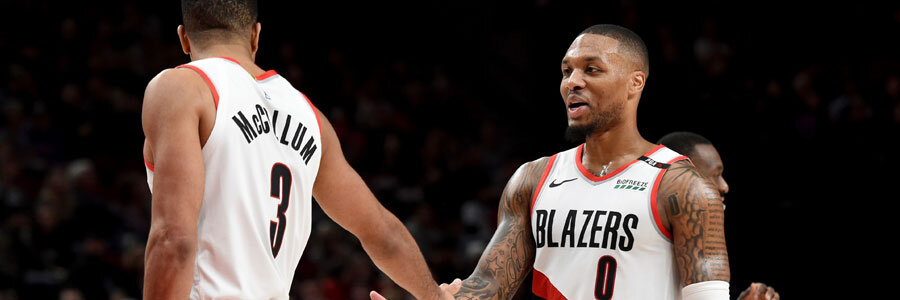 Blazers vs Nuggets NBA Betting Lines & Game Preview.