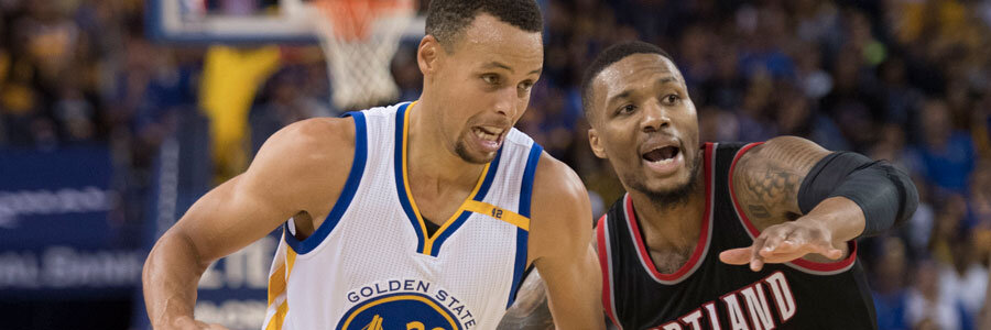 Warriors Are NBA Betting Favorites Against Trail Blazers in Game 1