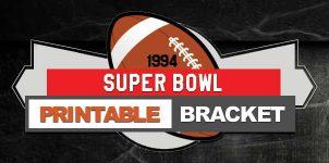 1994 NFL Printable Bracket