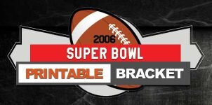 2006 NFL Printable Bracket