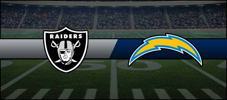 Raiders vs Chargers Result NFL Score
