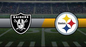 Raiders vs Steelers Result NFL Score