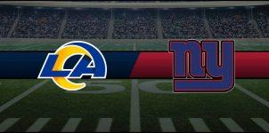 Rams vs Giants Result NFL Score