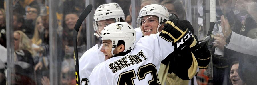 Rangers at Penguins NHL Playoff Betting Odds