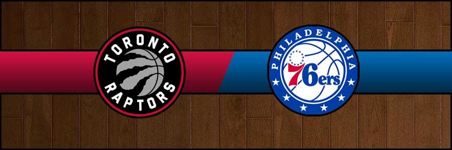 Raptors vs 76ers Result Basketball Score