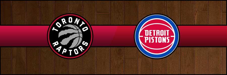 Raptors vs Pistons Result Basketball Score