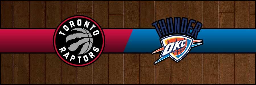 Raptors vs Thunder Result Basketball Score