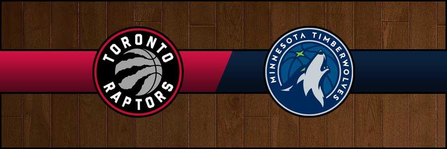 Raptors vs Timberwolves Result Basketball Score