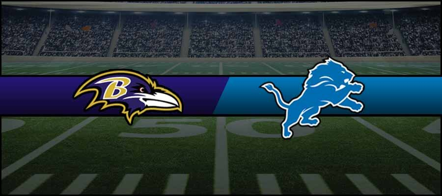 Ravens vs Lions Result NFL Score