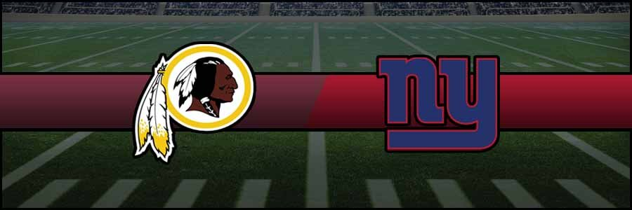 Redskins vs Giants Result NFL Score