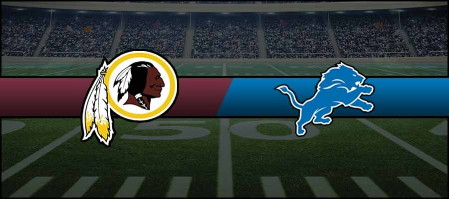 Redskins vs Lions Result NFL Week 10 Score