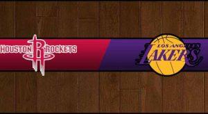 Rockets vs Lakers Result Basketball Score
