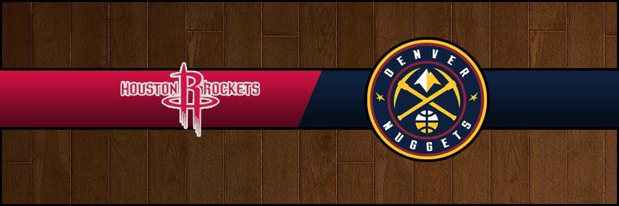 Rockets vs Nuggets Result Basketball Score