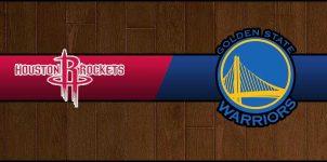 Rockets vs Warriors Result Basketball Score