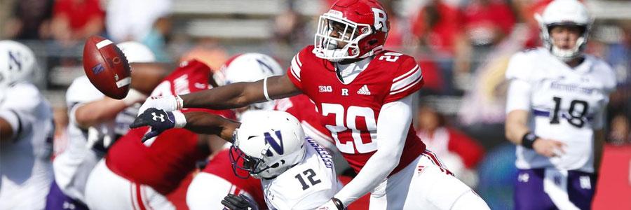 Rutgers vs Wisconsin NCAA Football Week 10 Lines & Prediction